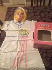 Vintage Ben Cooper Barbie Bride Costume In Box
