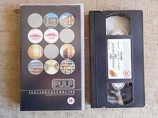 Pulp – F.E.E.L.I.N.G.C.A.L.L.E.D.L.I.V.E - cassetta video VHS
