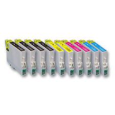 10 Druckerpatronen für EPSON Expression Home XP342 XP345 XP430 XP432 XP435 XP445