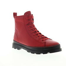 Camper Brutus K300245-005 Mens Red Leather Casual Dress Boots