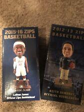LeBron James Keith Dambrot 2012-13 Akron University Zips Bobblehead Set