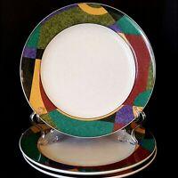 Studio Nova Impulse 3 Salad Plates 8.25 inch Y2262 Excellent Cond More Pcs Avail