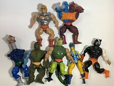 Vintage He-Man MOTU Figure Lot Battle Damage