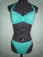 Buffalo Turquoise Cup-Bow Bikini Size 10 Cup D.