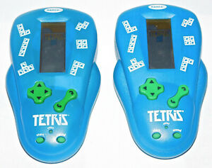 Tetris Handheld Electronic Video Game Radica 2000 Lot of 2 Tested Work Great Toy