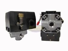 Heavy Duty 26 Amp Air Compressor Pressure Switch Control Valve 95 125 Psi 4 Port