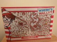 Where's Wally - 1000 Piece Jigsaw Puzzle Racing Santa - Christmas - New & Sealed
