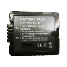 VW-VBG130 Replacement Battery fit for PANASONIC HDC-SD1 HDC-SD3 HDC-SD5 HDC-SD7