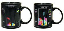Heat Changing Mug TETRIS Cup Coffee Sensitive Magic Tea Hot Reactive Cold
