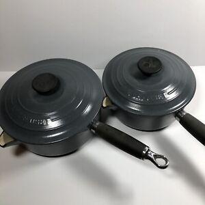 Vintage Le Creuset Pans saucepans 18 & 20