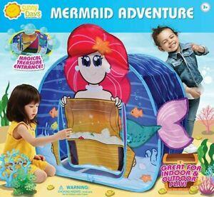 Sunny Days Mermaid Adventure Pop-Up Play Tent **NEW**