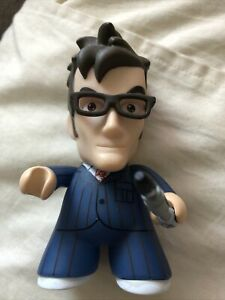 Titans Vinyl Figures 10th Doctor Blue Suit With Sonic