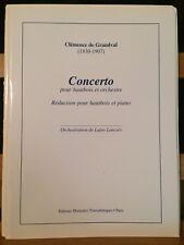 Clémence de Grandval Concerto pour hautbois partition piano Transatlantiques