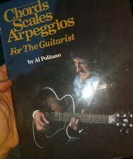 Chords, Scales, Arpeggios for the Guitarist-Politano-Music- Guitar free Usa ship