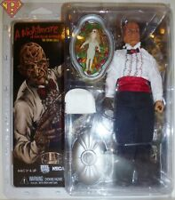 "CHEF FREDDY KRUEGER Nightmare on Elm Street 5 8"" Clothed Action Figure Neca 2018"