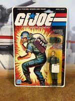 GI Joe 1982 Carded Breaker 9-back MOSC ARAH Original Sealed figure!