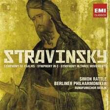 Sir Simon Rattle/berliner Phil - Stravinsky: Symphonies NEW CD