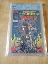Marvel Comics Presents 72 CBCS NOT CGC  9.4 White Pages Wolverine 1ST Weapon X!
