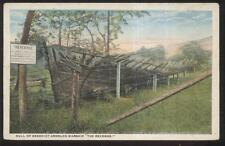 Postcard BENEDICT ARNOLD's WARSHIP REVENGE RUSTIC HULL REMAINS 1910's