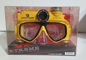 Liquid Image Xtreme Sport Cam Explorer Series 8.0MP Underwater Camera Mask