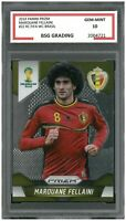 2014 Panini Prizm FIFA WC Brasil RC #22 MARQUANE FELLAINI ~ BSG Graded 10