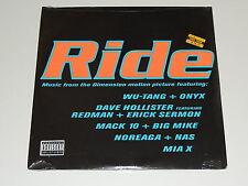 "VARIOUS~ RIDE music from the Dimension motion picture Lp 12""x2 WU TANG ONYX NAS+"