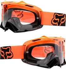 Fox espacio aéreo Motocross Mx Goggles Negro Naranja Fade rasga Mtb Bicicleta Airspc