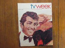 1967 Baltimore TV Week Maga(DEAN MARTIN/DALE ROBERTSON/ANDY GRIFFTIH/ROSS MARTIN