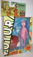 Toynami Futurama Nudar Figure with Robot Santa Part Series 4 NEW