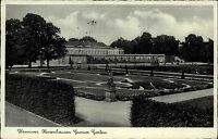 Hannover Niedersachsen s/w Postkarte 1940 gelaufen Herrenhausen Grosser Garten