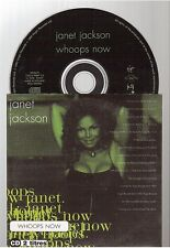 JANET JACKSON whoops now CD SINGLE french card sleeve france