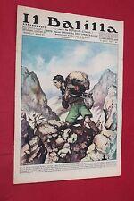rivista a fumetti IL BALILLA Supplemento Popolo d'Italia ANNO XV N.12 (1937)