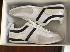 "Hugo Orange Boss ""Seamon White"" Tennis Shoes100% Authentic ( 8 ) $ 225"