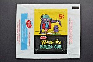 1965 FLEER *WEIRD-OHS* 5 CENT WAX WRAPPER