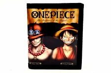 One Piece PU Leather Wallet / Monkey D. Luffy, Portgas D. Ace (ONP-B2A)