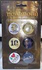 Twilight New Moon NECA set of 6 pins pinbacks *Damaged Package*