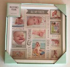 Baby Milestones Picture Frame