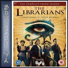 LIBRARIANS - COMPLETE SEASON 3 - THIRD SEASON *** BRAND NEW DVD***