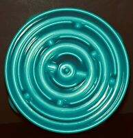 Outward Hound Fun Feeder Slow Feed Dog Bowl L Interactive Bloat Stop Turquoise