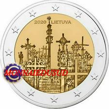 2 Euro Commémorative Lituanie 2020 - Colline des Croix UNC NEUVE