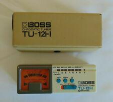 Boss Chromatic Tuner TU-12H Digital Processing Multi Instrument Tuner with Case