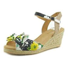 Canvas Floral Platforms & Wedges Heels for Women
