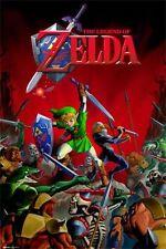 LEGEND OF ZELDA - BATTLE - VIDEO GAME POSTER - 24x36 - 10057
