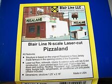 Blair Line N Scale Laser  Kit Pizzaland Bada Bing! #090 Bob The Train Guy
