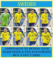 Panini Adrenalyn XL FIFA World Cup 2018 Russia - Choose your SWEDEN team cards