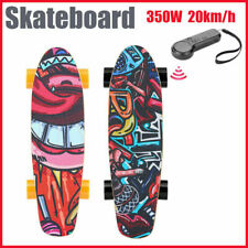 Elektro Skateboard E-Skateboard Elektrisches Komplettboard Miniboard 20km/h/NEUE