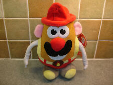 Mr Potato Head Fireman 24cm Soft Toy Brand New With Tags