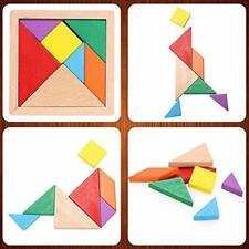 7 Pieces Toysmith Tangram Brain Teaser Puzzle