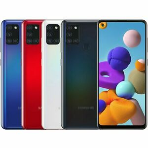 SAMSUNG GALAXY A21s A217M/L 64GB BLACK/BLUE/WHITE/RED 4GB RAM FACTORY UNLOCKED