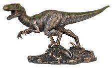 Veronese Bronze Figurine Animal Dinosaur Velociraptor Statue Gift Jurassic Park